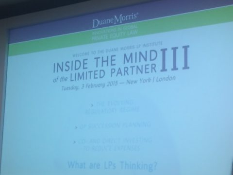 Inside the Mind of the Limited Partner III